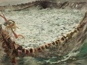 Study for 'Pilchards', C.1897 by Charles Napier Hemy