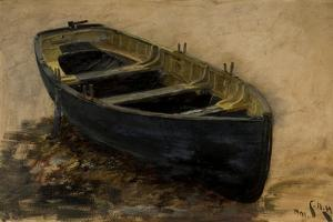 Study of a Boat, 1901 by Charles Napier Hemy