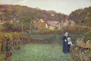 Telling the Bees by Charles Napier Hemy