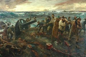 The Wreckage, 1898-1901 by Charles Napier Hemy