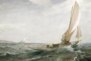 Through Sea and Air, 1910 by Charles Napier Hemy
