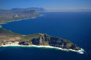 Aerial View of Cape of Good Hope by Charles O'Rear