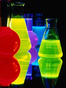 Laser Dyes in Flasks by Charles O'Rear