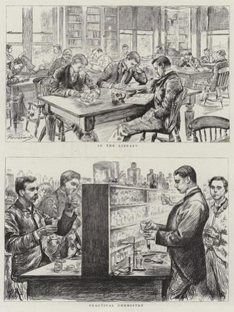 Medical Students at Work by Charles Paul Renouard