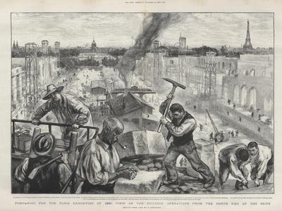 Preparing for the Paris exhibition of 1900