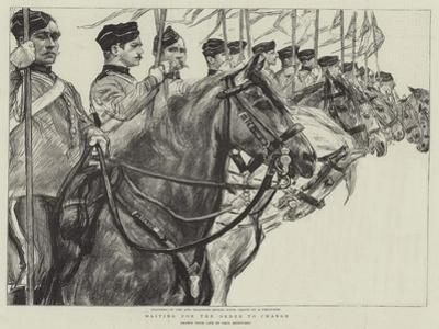 Waiting for the Order to Charge by Charles Paul Renouard