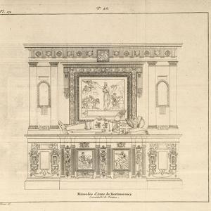 Musée des Monuments Français tome 5, par Alexandre Lenoir: planche 171 : mo by Charles Percier