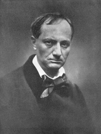 Charles Pierre Baudelaire (1821-186), French Symbolist Poet and Art Critic, 1864-1865
