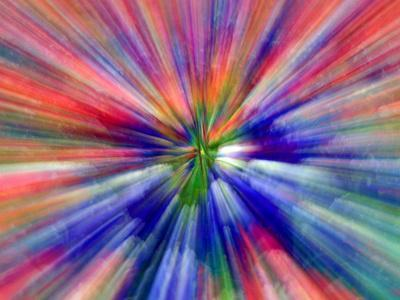 Zoom Abstract of Pansy Flowers