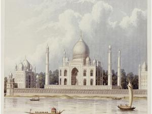 The Taj Mahal, Tomb of the Emperor Shah Jehan and His Queen, circa 1824 by Charles Ramus Forrest