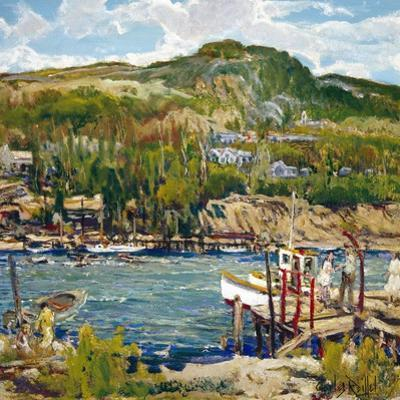 A Windy Day by Charles Reiffel
