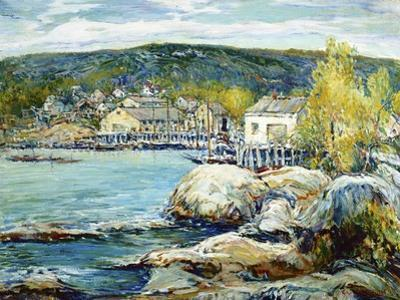 Harbor Day by Charles Reiffel