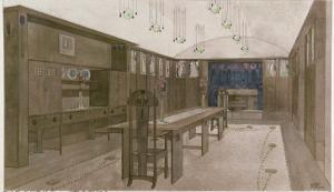 Design for a Dining Room, 1901 by Charles Rennie Mackintosh