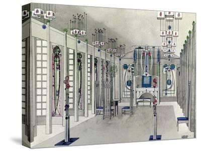 Design for a Music Room with Panels by Margaret Macdonald Mackintosh 1901