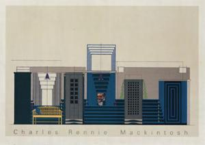 The Willow Tea Rooms a Glasgow, c.1917 by Charles Rennie Mackintosh