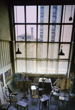 View of a Studio, Built 1897-99 by Charles Rennie Mackintosh