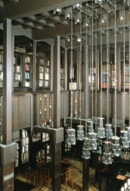 View of the Library, Built 1897-99 by Charles Rennie Mackintosh