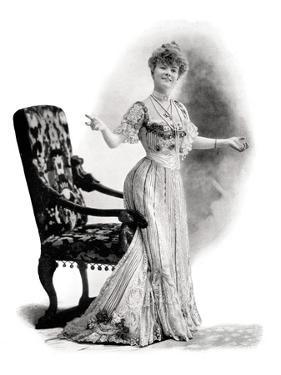 A Parisian Actress, Mademoiselle Charlotte Wiehe, 1901 by Charles Reutlinger