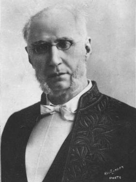 'Emile Ollivier', c1893 by Charles Reutlinger