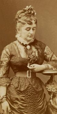 Fanny Lear, c.1875 by Charles Reutlinger