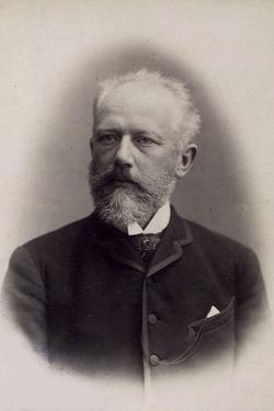 Peter Ilich Tchaikovsky, Russian Composer, Late 19th Century by Charles Reutlinger