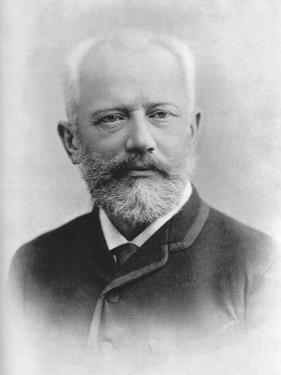 Pyotr Ilyich Tchaikovsky (1840 - 189), Russian Composer by Charles Reutlinger