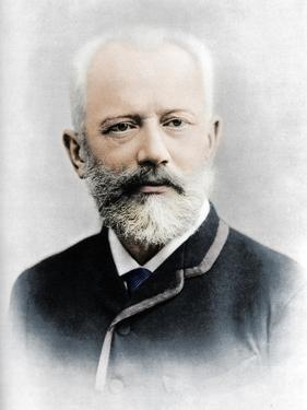 Pyotr Ilyich Tchaikovsky (1840 - 1893), Russian composer by Charles Reutlinger