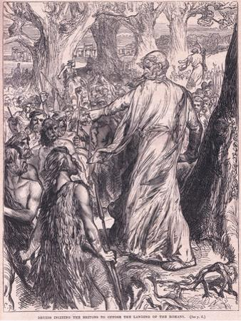 Druids Inciting the Britons to Oppose the Landing of the Romans