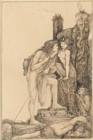 Oedipus and the Sphinx, 1891