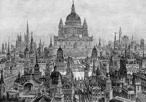 The Principal Works of Sir Christopher Wren, 1882 by Charles Robert Cockerell