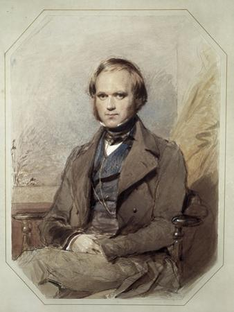 Litography by Charles Robert Darwin