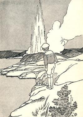 'A Geyser', 1912 by Charles Robinson
