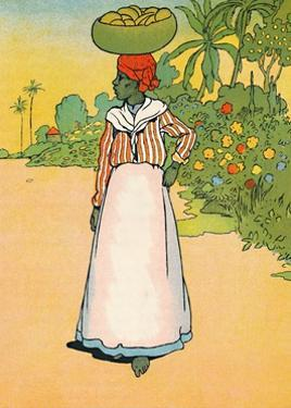 'A Street in Jamaica', 1912 by Charles Robinson