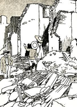 'After the Earthquake', 1907 (1912) by Charles Robinson