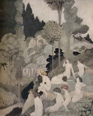 'An Autumn Interlude', c1910 by Charles Robinson