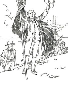 'Captain Cook Landing in Australia', 1912 by Charles Robinson