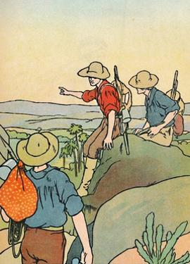 'Early Settlers in Australia', 1912 by Charles Robinson