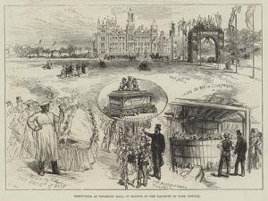 Festivities at Thoresby Hall, in Honour of the Majority of Lord Newark by Charles Robinson