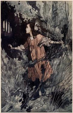 Mary Finds the Door by Charles Robinson