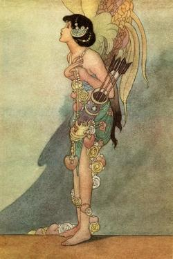 Oscar Wilde ' The Nightingale and the Rose' by Charles Robinson