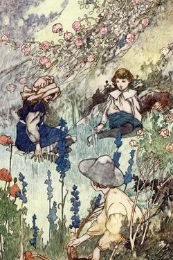 The Secret Garden by Frances Hodgson Burnett by Charles Robinson