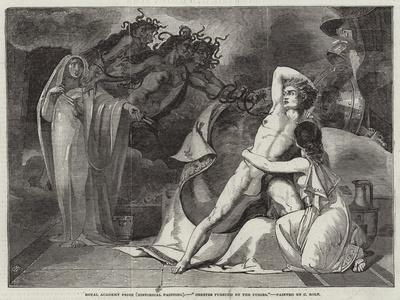 Royal Academy Prize (Historical Painting), Orestes Pursued by the Furies