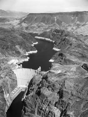 Aerial View of Hoover Dam by Charles Rotkin