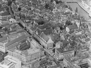 Aerial View of Zurich by Charles Rotkin