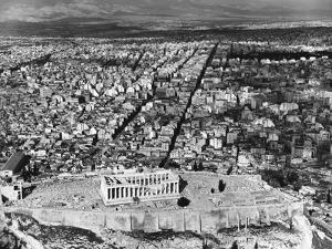 Parthenon and the Acropolis by Charles Rotkin