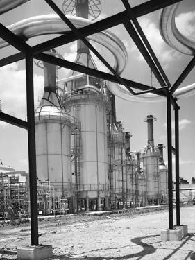 Texaco Refinery by Charles Rotkin