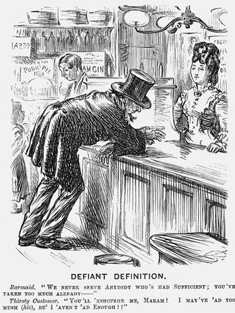 Defiant Definition, 1872