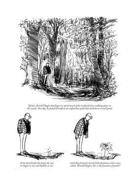 New Yorker Cartoon by Charles Saxon