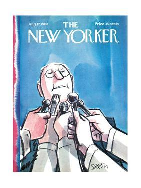 The New Yorker Cover - August 17, 1968 by Charles Saxon