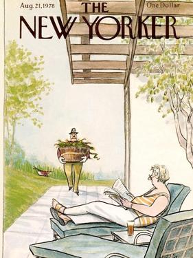 The New Yorker Cover - August 21, 1978 by Charles Saxon